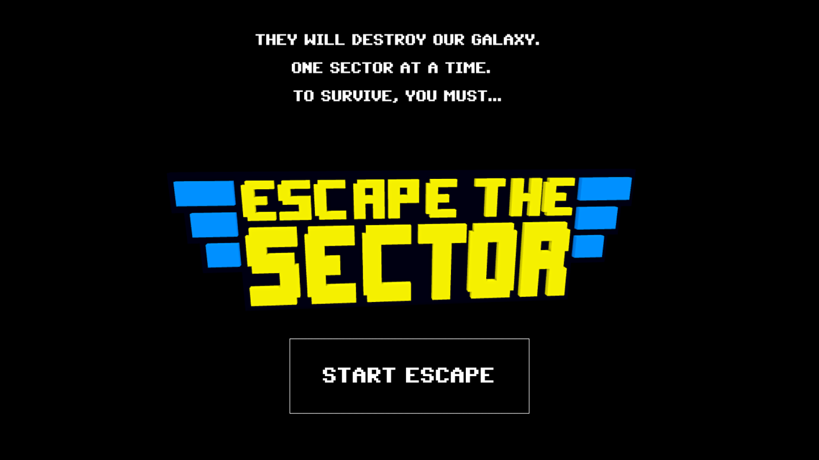 Escape the sector- screenshot