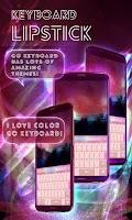Screenshot of Lipstick GO Keyboard