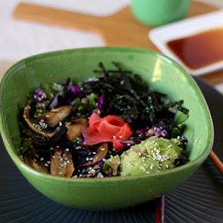 Grain-free Sushi Bowls.