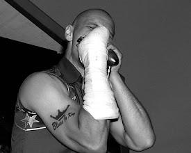 Photo: nr 12 2005 Lightin´ Moe & His Peace Disturbers 050702 Villa Belparc Göteborg Bluesparty Göteborg