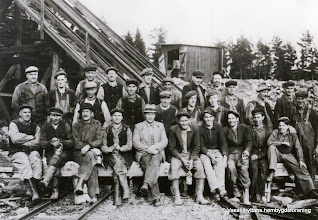 Photo: Ingelsgruvan-Krongruvan-arbetslag 1941