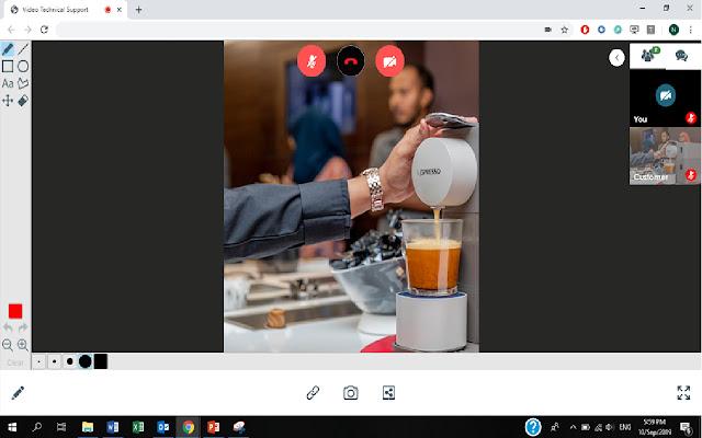 TD Video meeting