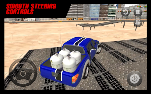 Driving Simulator 4x4 Pickup Truck Parking Game 3D - náhled