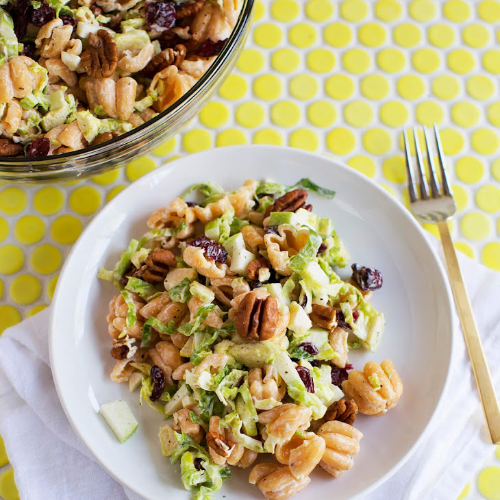 Creamy Winter Pasta Salad