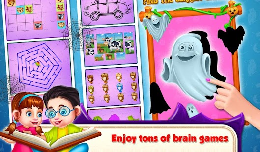 Educational Kids Computer Halloween- screenshot thumbnail