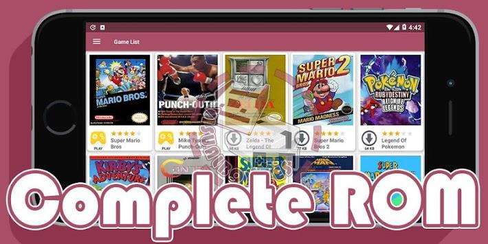 Download VisualBoy NES Emulator APK latest version game for