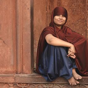 Wild Beauty. by Marcel Cintalan - People Portraits of Women ( dress, woman, india, beauty, portrait,  )