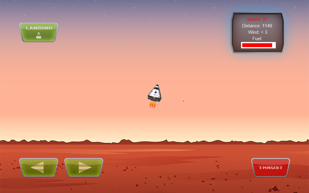 Mars Lander- screenshot