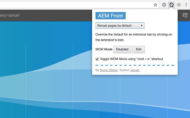 AEM Front Extension