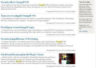 Photo: Media headlines (Svenska Dagbladet)