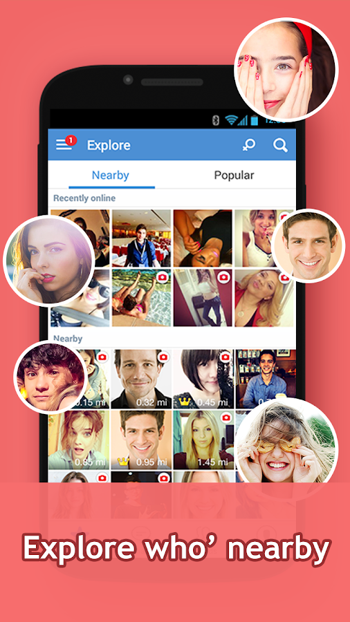 InstaMessage-Chat,meet,hangout- screenshot