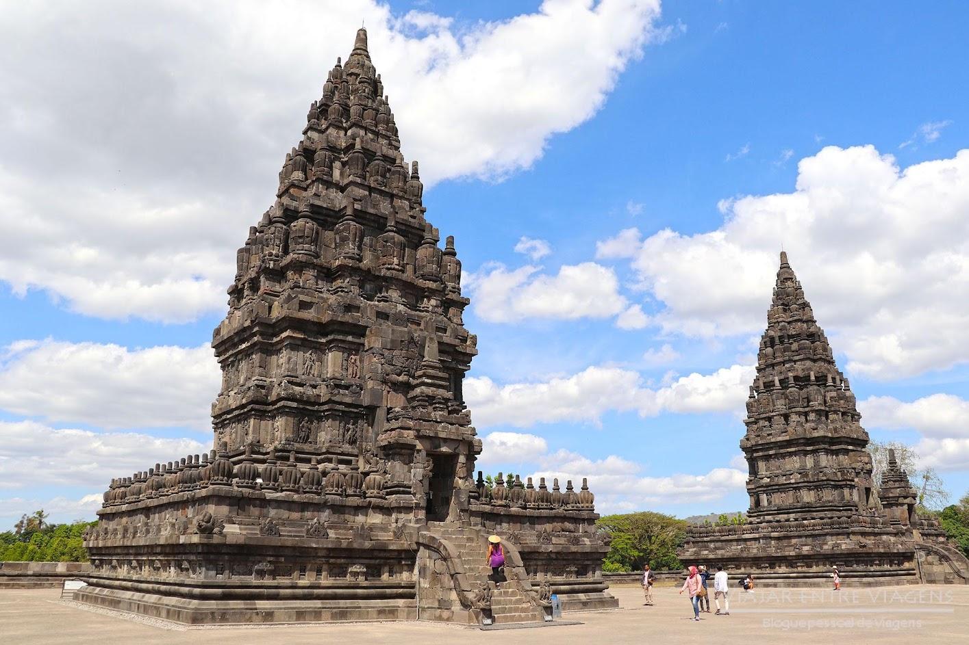 Dia 27 – Visitar PRAMBANAN, os maiores templos hindus da Indonésia