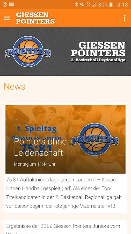 Giessen Pointers- screenshot