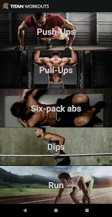 Titan Workouts - strength and stamina Mod