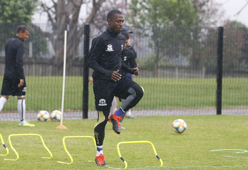 Bandile Shandu backs Maritzburg to upset Sundowns in TKO final