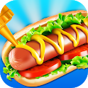 Super Hot Dog Master Chef Fun Food Game icon