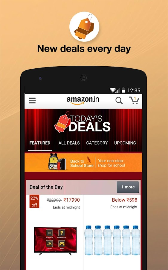 Amazon India Online Shopping Android Apps On Google Play