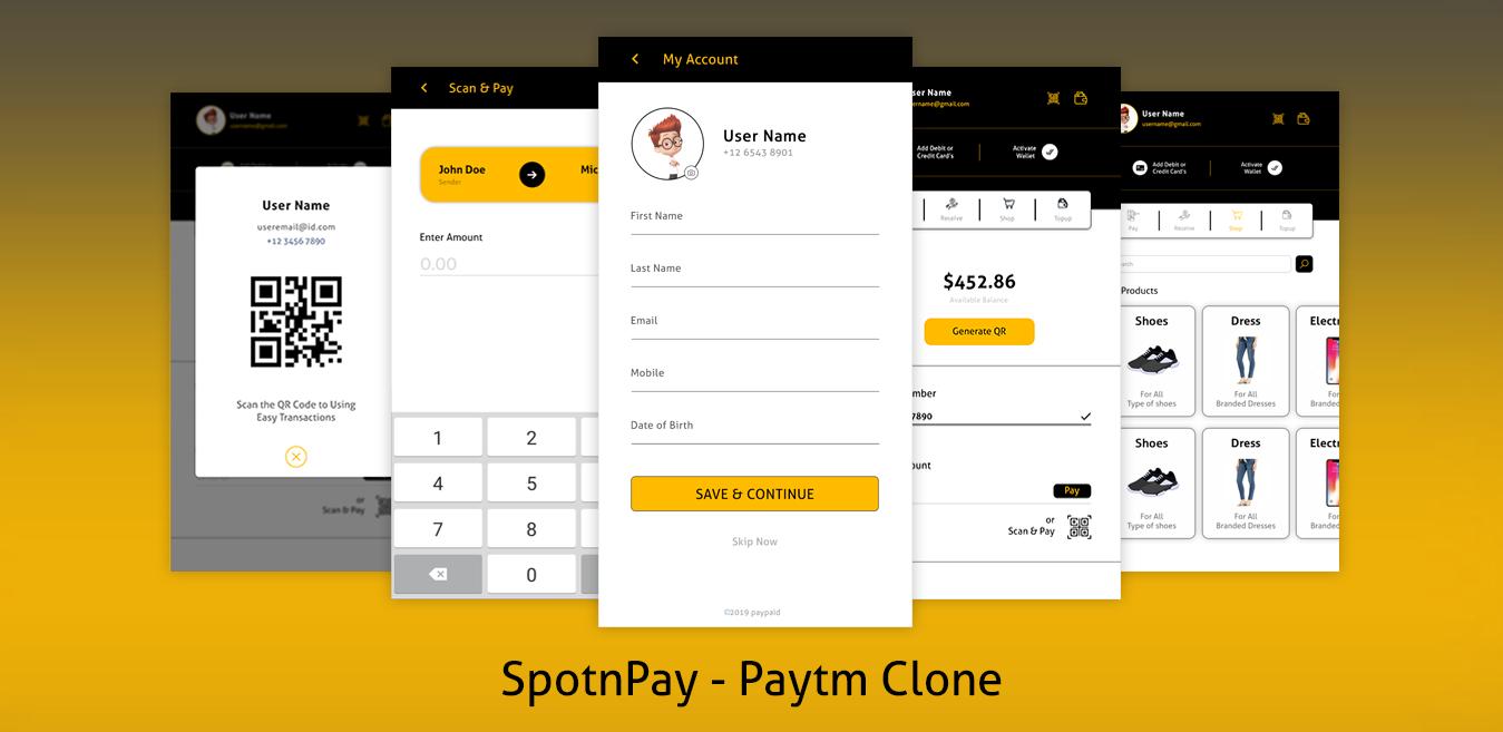 SpotnPay Paytm Clone Script Provider