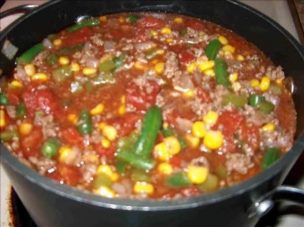 Vegetable-beef Soup Recipe