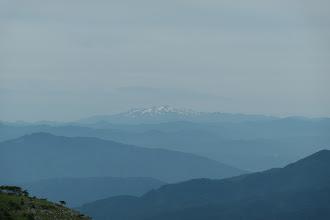 山頂から白山