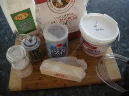 In medium bowl combine flour, baking powder, ground ginger, fresh ginger, black pepper, and...
