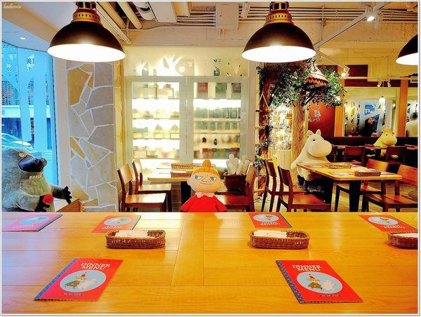 Moomin Cafe 嚕嚕米主題餐廳 - 小不點、可兒、通通在這裡,萌度破表