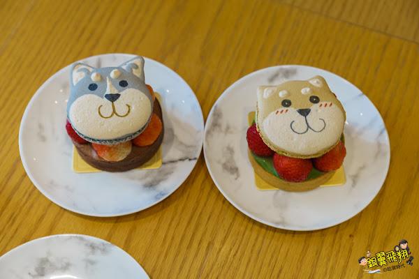蘇格蕾法式甜點Le Sucré-超犯規草莓塔柴犬哈士奇!