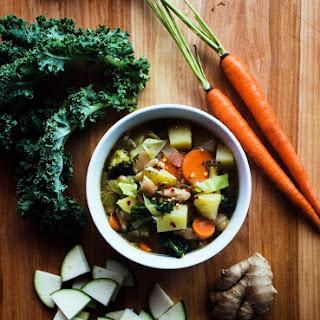 Spiced Ginger Vegetable Soup Recipe