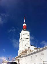 Photo: Le pic du Mont Ventoux
