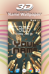 3d My Name Live Wallpaper Aplikasi Di Google Play