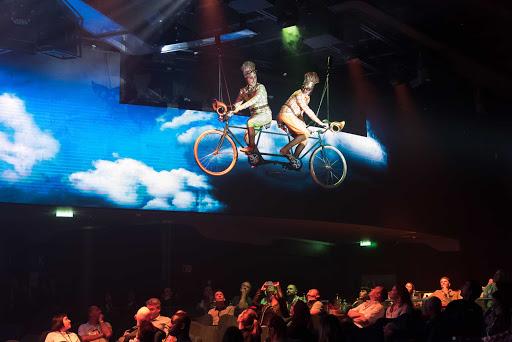 msc-meraviglia-Cirque-du-Soleil-at-Sea-2.jpg - MSC Cruises' new flagship, MSC Meraviglia, offers two production shows per night from Cirque du Soleil.