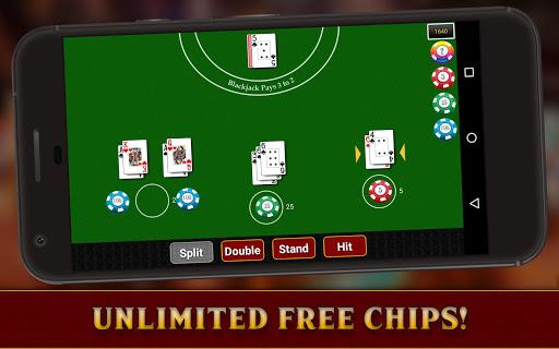 Casino Blackjack (5 Games)-21 1.0 Mod screenshots 2