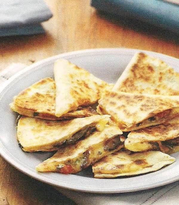 Mushroom And Swiss Quesadillas Recipe