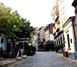 Photo: Bohemian Quarter in Belgrade.