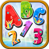 Kids ABC & Numbers puzzle free