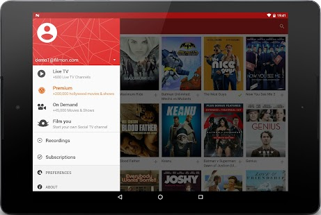 FilmOn Live TV FREE Chromecast Screenshot 11
