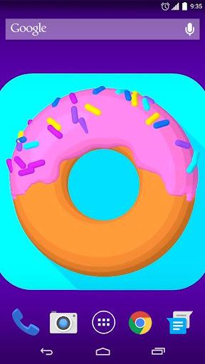 Sweet Donut Live Wallpaper