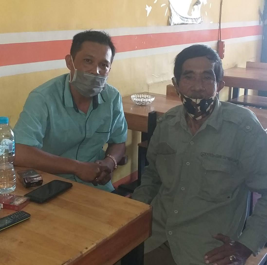 Ketua BAIN HAM RI Kalabar Ikut Impati Atas Hukum Yang Menimpa Tiga Wartawan Yang Diduga Melakukan Pemerasan SPBU