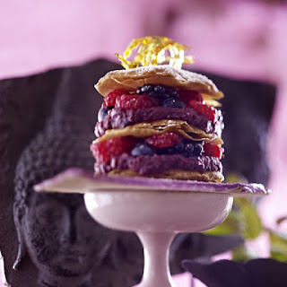 Mixed Berry and Phyllo Pastry Stack.