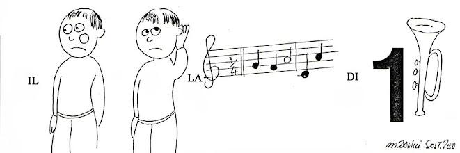 Photo: 11 IL BAMBINO ASCOLTA LA MUSICA DI UNA TROMBA