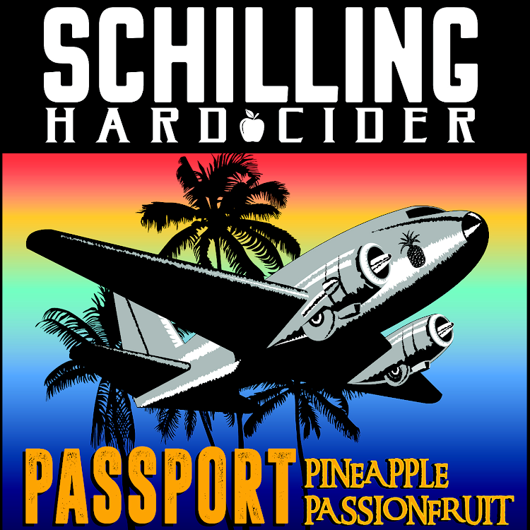 Logo of Schilling Cider Passport (Pineapple Passion Fruit)