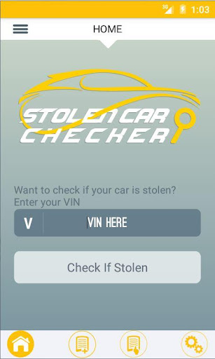 Stolen Car Checker screenshot