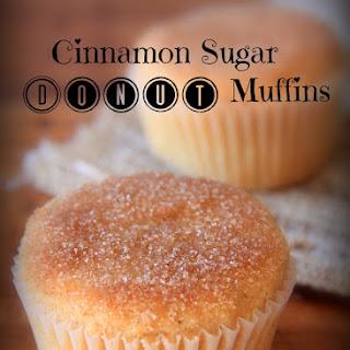 Cinnamon Sugar Donut Muffins.