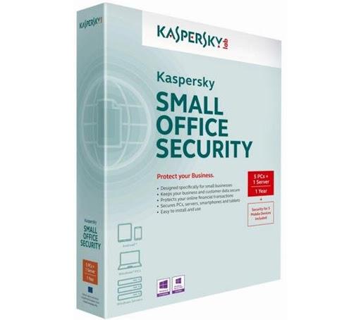 Phần mềm Kaspersky KSOS 1 Server+5PCs