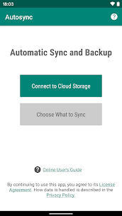 Autosync Ultimate v1.0.3 MOD APK – Universal cloud sync and backup 1