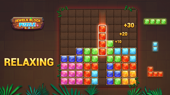 Block Puzzle – Jewels World 8