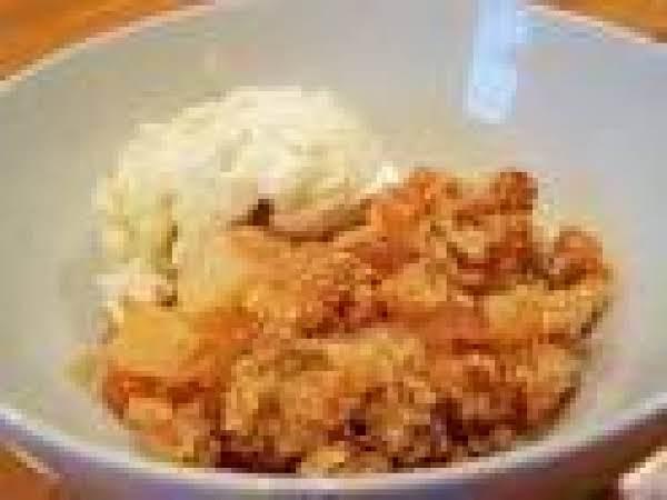 Pear Cheddar Cheese Crisp Recipe