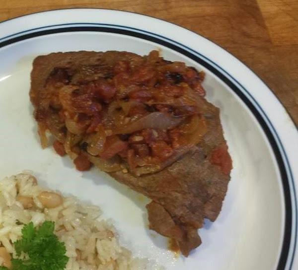 Portuguese Braised Steak & Onions Recipe