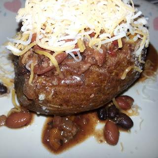 Chili Topped Potato