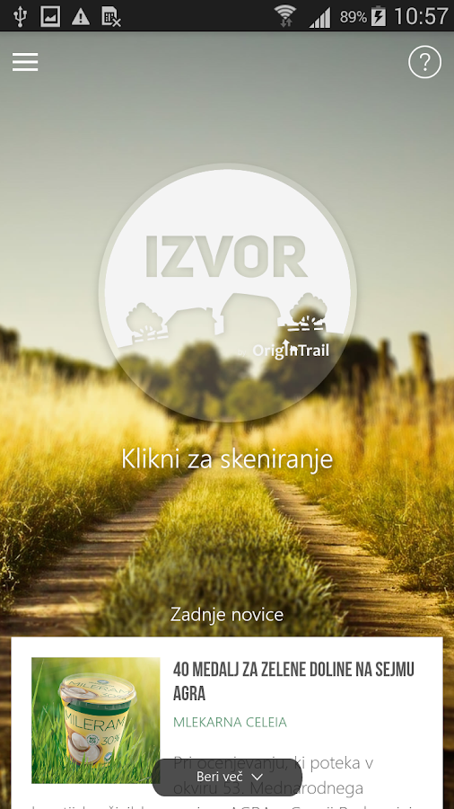 Izvor - by OriginTrail- screenshot